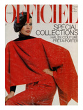 L&#39;Officiel, September 1977 - Ensemble de Pierre Cardin Prints by Roland Bianchini