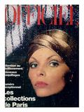 L'Officiel, September 1975 - Ensemble d'Yves Saint Laurent Prints by Patrick Bertrand