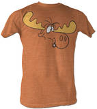 Rocky &amp; Bullwinkle - Bull Brains T-shirts
