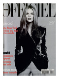 L'Officiel, November 1994 - Elle Mc Pherson Habillée Par Giorgio Armani Art par Francesco Scavullo