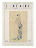 L&#39;Officiel, September-October 1923 - Cr&#233;ation Jeanne Lanvin Prints by Jeanne Lanvin