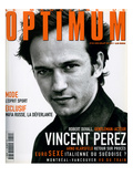 L'Optimum, June-July 1998 - Vincent Perez Posters by Marcel Hartmann
