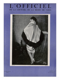 L'Officiel, March 1927 - Drecoll Prints by  Madame D'Ora