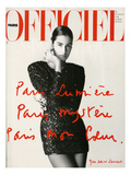 L'Officiel, May 1990 Premium Giclee-trykk av  Hiromasa