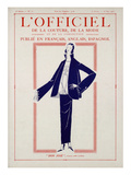 L&#39;Officiel, April-May 1923 - Don Jos&#233; Prints by Amy Linker