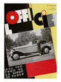 L'Officiel, November 1932 - Mle Roberte Cussey/46 H.P. Hispano Suiza/Carrossée Par Fernandez Prints by A.P. Covollot