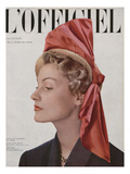 L'Officiel - St Cyr, Chapeau de Paille, Ruban Prints by Philippe Pottier