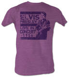 Elvis Presley -  In Concert T-shirts