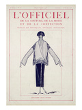 L'Officiel, January-February 1923 - Création Jean Patou Poster by Jean Patou