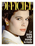 L'Officiel, April 1984 - Louis Féraud Print by Denis Malerbi