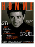 L'Optimum, September 1997 - Patrick Bruel Premium Giclee Print by Neil Kirk