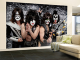 KISS Wall Mural  Large