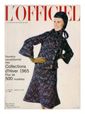 L'Officiel, September 1964 - Deux-Pièces de Pierre Cardin en Lainage De_Fred Carlin Prints by Philippe Pottier