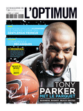 L'Optimum, November 2010 - Tony Parker Poster by Gérard Giaume