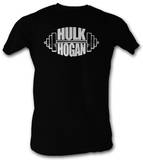 Hulk Hogan - White Barbell T-shirts
