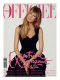 L&#39;Officiel, December 1993 - Claudia Schiffer Prints by Francesco Scavullo