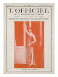 L'Officiel, February-March 1923 - Création Paul Poiret Prints by  Lipnitzki