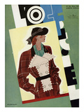 L'Officiel, March 1935 - Marcel Rochas Affiches par Lbengini & A.P. Covillot