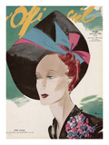 L'Officiel, July 1938 - Rose Valois Posters van Lbenigni