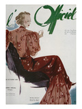 L'Officiel, October 1936 - Belle Idée Posters by  Lbenigni