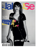 Jalouse, May 2009 - Lou Doillon, Mélanie Laurent, Audrey Marnay, Clémence Poésy et Léa Seydoux Posters by Ami Sioux