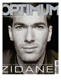 L'Optimum, September 2001 - Zinedine Zidane Print by François Darmigny
