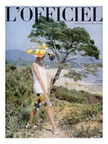 L'Officiel - Ensemble de Plage de Pierre Cardin Art by Philippe Pottier