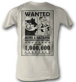 Rocky & Bullwinkle - Wanted Shirt