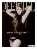 L'Officiel, 2002 - Jessica Miller Plakat av Alexei Hay