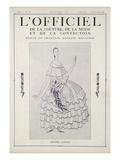 L'Officiel, November-December 1922 Poster von Jeanne Lanvin