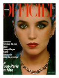 L&#39;Officiel, December 1979 - Isabelle Adjani Poster by Rodolphe Haussaire