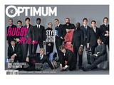 L'Optimum, September 2007 - Les Rugbymans du Xv de France Habillés Par Eden Park Posters by Greg Soussan