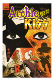 Archie Meets KISS Cover Print