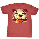 Magnum Pi - Flowers T-Shirts