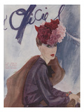 L'Officiel, February 1942 Premium Giclee Print by  Lbenigni