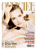 L'Officiel, December 1997 - Carole Bouquet Posters by André Rau