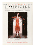 L'Officiel, September 1925 - Prince Charmant Prints by  Drecoll