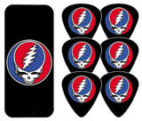 Grateful Dead - Steal Your Face Black Guitar Picks Plektre