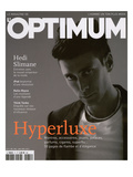 L'Optimum, December 2004-January 2005 - Hedi Slimane Posters by  Y.R.