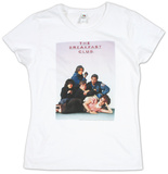 Juniors: The Breakfast Club - Poster Ladies T-Shirt
