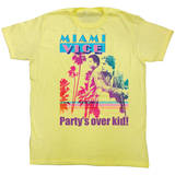 Miami Vice - Party's Over T-shirts