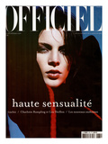 L'Officiel, 2002 - Liberty Ross Prints by Michel Mallard
