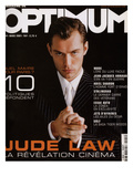 L'Optimum, March 2001 - Jude Law Kunstdrucke von Richard Phibbs