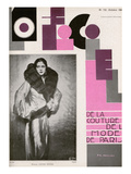 L'Officiel, October 1930 - Mme Louise Eisner Posters by Madame D'Ora & A.P. Covillot