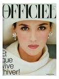 L'Officiel, November 1983 - Isabelle Adjani Poster van Dominique Isserman