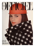 L'Officiel, March 1981 - Pierre Cardin Prints by Rodolphe Haussaire
