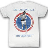 Muhammad Ali - Cross The Line Tshirts