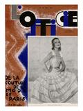 L'Officiel, March 1931 - Mle Mila Cirul/Rubans de Maurice Vergne/ J. Suzanne Ta Prints by Madame D'Ora & A.P. Covillot