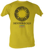 USFL - Denver Gold T-shirts