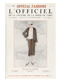 L&#39;Officiel, March 1925 - Mlle Olga Pouffkine Prints by  Rahma